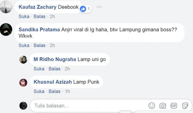 Kalau ini kota Bandar Lampung Pulsker, jadinya malah Lamp Punk.