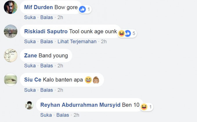 Yang anak Bogor, Tulungagung, sama Banten mana nih suaranya?.