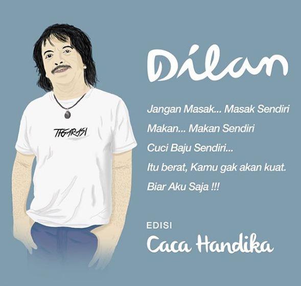 Gagal Romantis, Begini 7 Parodi Cover Novel Dilan yang ...