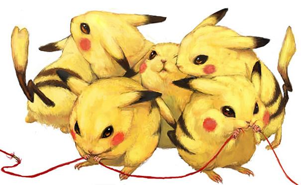 Pikachu jadi seekor tikus yang biasa menggerogoti kabel-kabel dirumah kita guys.