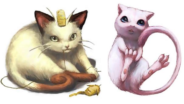 Keren mana nih yang asli atau saat jadi hewan?.