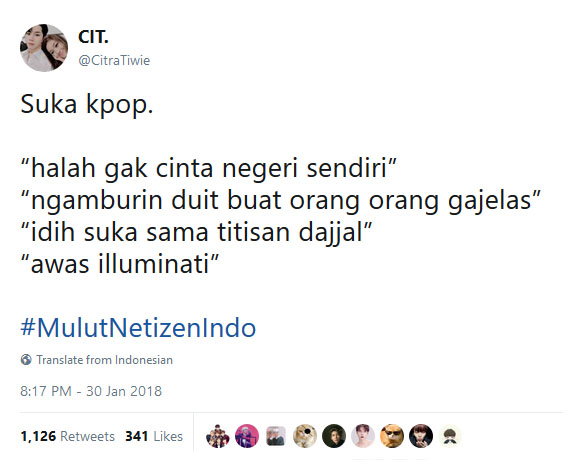 #MulutNetizenIndo