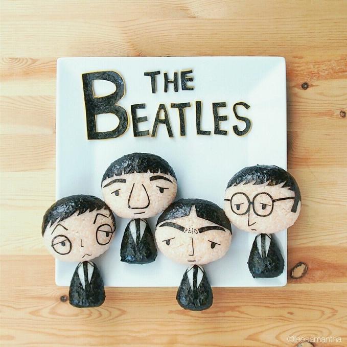 Bahkan dia terinspirasi dari salah satu band legendaris dunia, The Beatless.
