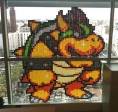 Jadi sosok monster yang menghiasi dinding kantor atau rumah kita biar aman gengs.