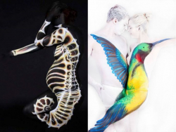 7 Kreasi Seni Body Painting yang Mengecoh Penglihatan Kita
