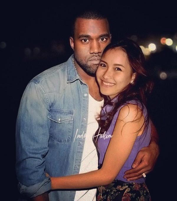 Oowwhh..ternyata ini toh cowok yang lagi deket sama Ayu Ting Ting, si Kanye West, semoga nggak dilabrak sama Kim deh..