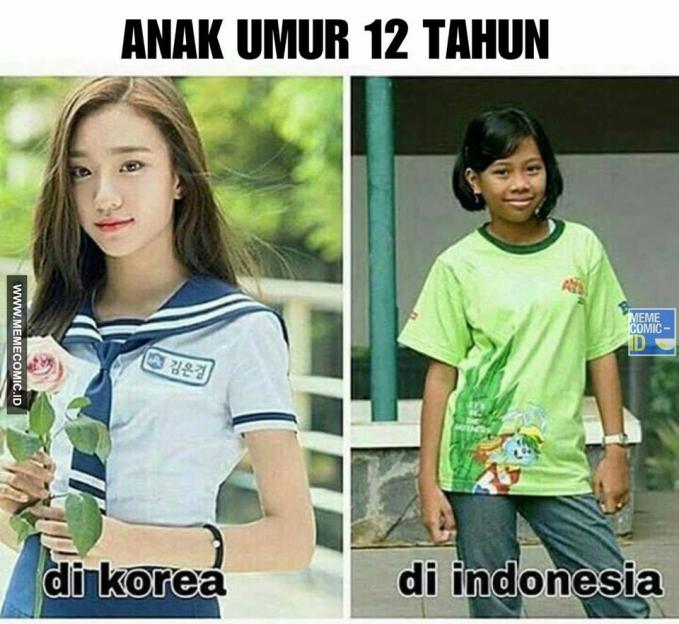 Beda pabrikan beda pula hasilnya sob !. Tapi wanita Indonesia nggak kalah mempesona lho.