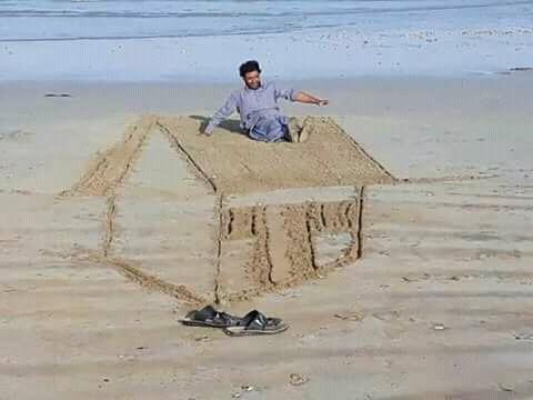 Berasa bermain-main di atas genting rumah sob.