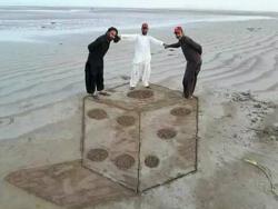Biar Liburan di Pantai Nggak Boring, Mending Kita Seru-Seruan dengan Gambar Pasir 3-Dimensi