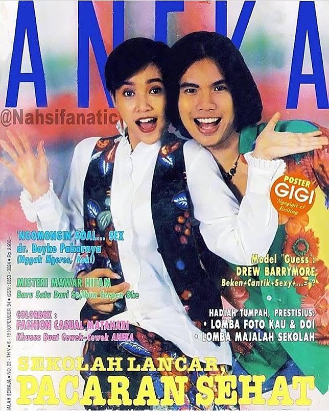Adem banget ya melihat kekompakan Ahmad Dhani dan Maia Estianty jaman dulu. Seandainya saja..ah..sudahlah.