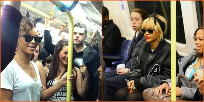 Percaya nggak sih kalau penyanyi sekelas Rihanna juga pernah naik kereta bawah tanah. Ryan aja mau naik kendaraan umum, masa kamu nggak?