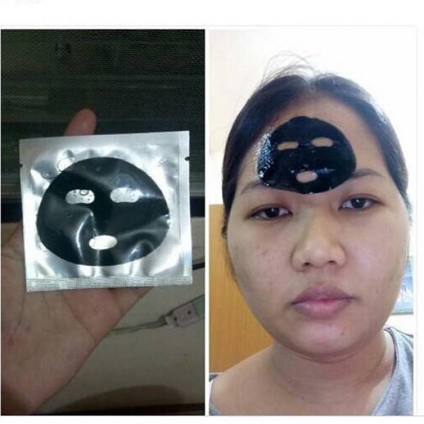 Niatnya beli masker Shinchan, lah kok yang datang malah masker tuyul. Gimana sih?!