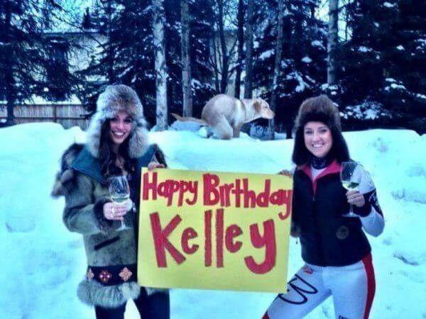 Ucapan selamat ulang tahun yang nggak akan Kelley lupakan seumur hidup.