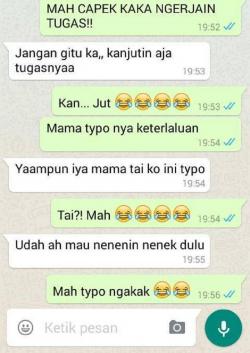 5 Kelakuan Ibu-Ibu Memakai Chat Whatsapp, Dari Salah Kirim hingga Typo
