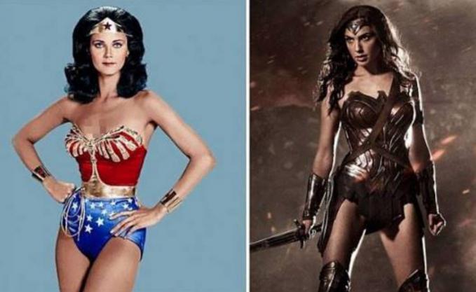 Wonderwoman Yang jelas Wonderwoman jaman dulu lebih pantas jadi sexy dancer dibanding jadi superhero.