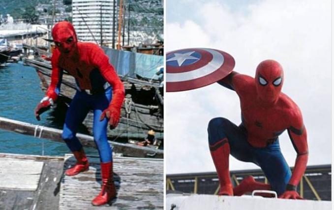 Spiderman Spiderman jaman dulu ini mirip kaya zombi nggak sih?