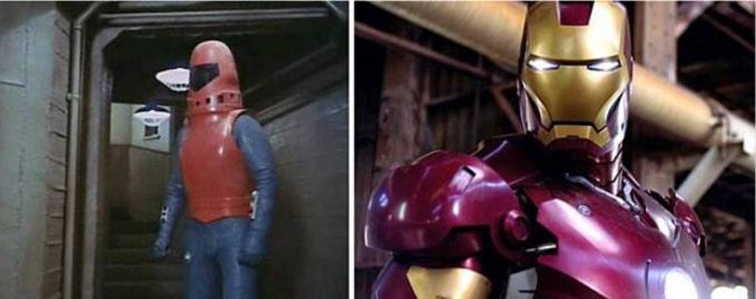 Iron Man Itu Iron Man kenapa lebih mirip dengan tukang las baja ya??