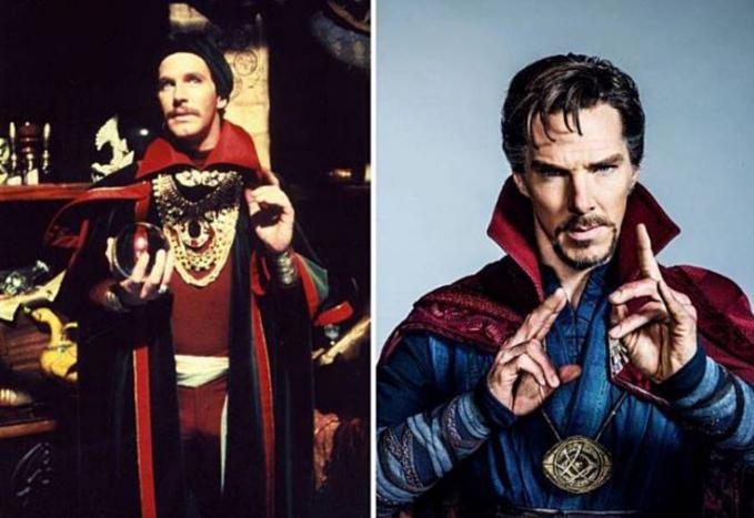 Doctor Strange Lumayan mirip sih kalau yang ini dengan jaman dulu.