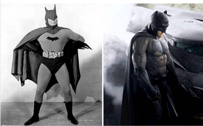 Batman Yang jelas lebih gagah Batman yang sekarang lah yaa..
