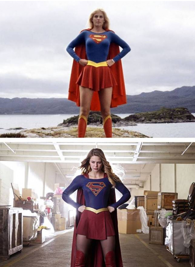 Super Woman Oke..sama-sama cantik, kalau kamu lebih pilih yang dulu atau yang sekarang nih?