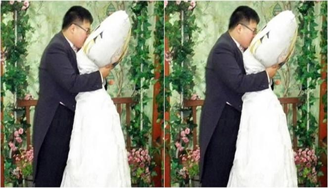 Bukan cuma Jepang, di Korea juga ada yang menikahi karakter anime