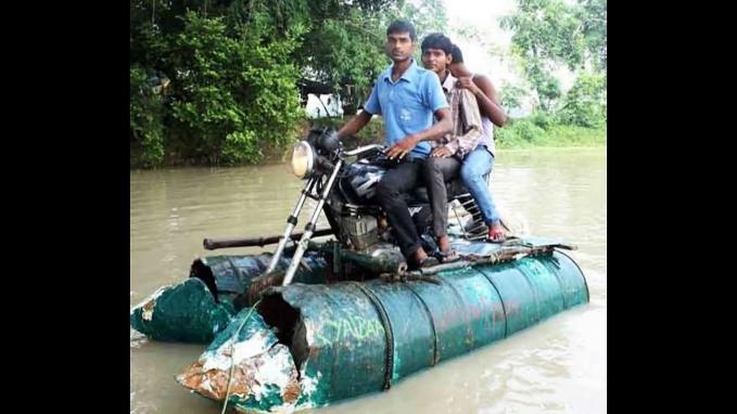 Ini baru namanya motor boat.