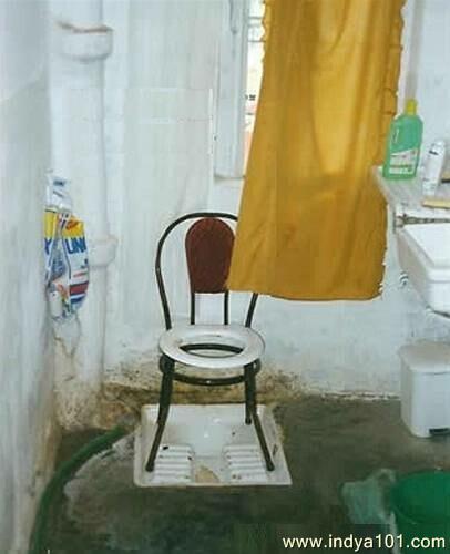 Dan ini yang namanya kloset duduk.