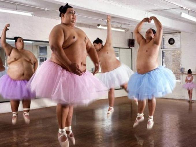 Para balerina yang gagal diet.