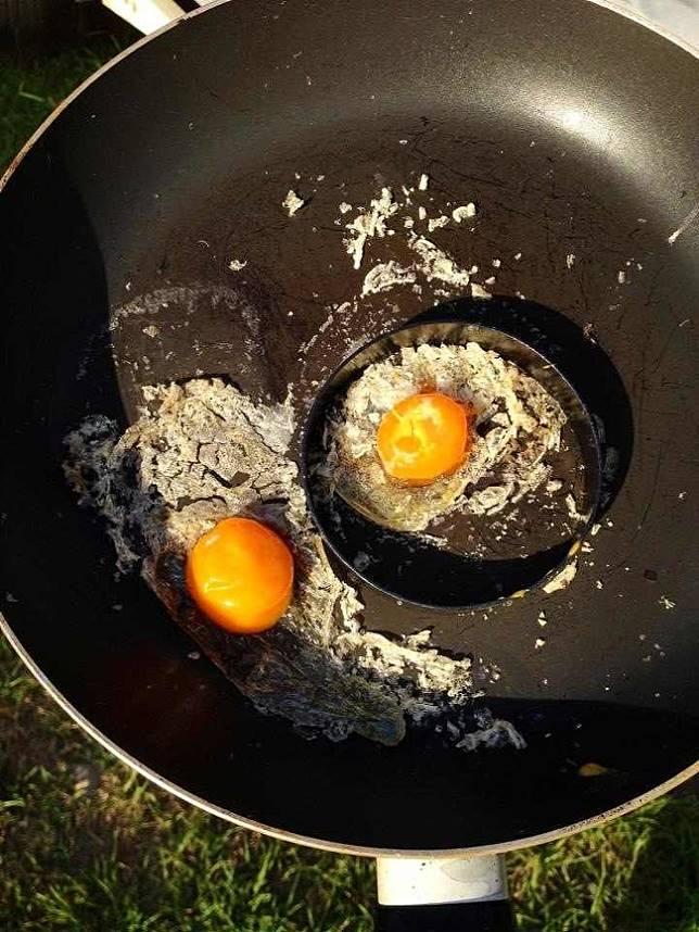 Panasnya matahari bahkan bisa membuat telur menjadi matang