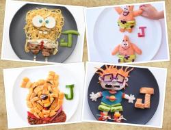 Penyajian Makanan Nggak Biasa yang Terinspirasi dari Film Kartun, Tega Nggak Nih Makannya?