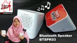 VIDEO Souvenir Bluetooth Speaker Btspk03 Review by zeropromosi.com