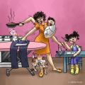 10 Iluastrasi Membuktikan Ibu adalah Superhero Dalam Keluarga, Percaya?