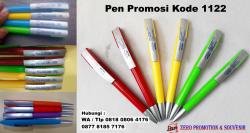 Keren!! Pulpen Plastik Putar / Pen Promosi Kode 1122