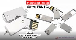 Wow Keren! Jual Souvenir Flashdisk Metal Swivel FDMT03