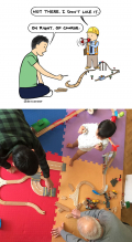 10 Ilustrasi Kedekatan Ayah dan Anak Ini Bikin Kamu Rindu Masa Kecil