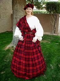 Kilt - Skotlandia Pakaian tradisional ini di dominasi oleh kain dengan motif kotak - kotak.