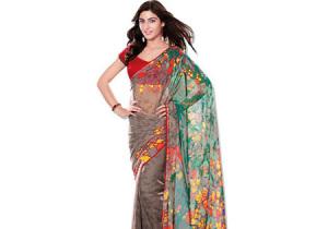 Saree - India Merupakan kain yang lebar dan cara memakainyapun beragam sesuai dengan wilayah, kasta, kegiatan, agama dll
