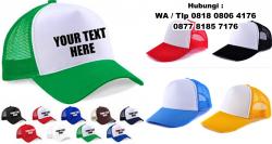 wow keren!! Produksi Topi Jala / jaring / Trucker – Topi Promosi Tangerang