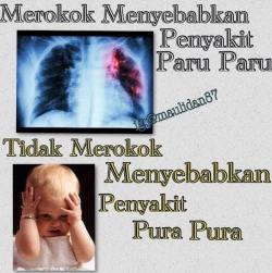 Nggak Harus Seram, Larangan Rokok Juga Dituangkan dalam Meme Lucu Lho