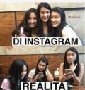 Kumpulan Meme Instagram Vs Realita Para Cewek Ini Nyindirnya Nggak Abis-Abis