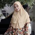 10 Foto Nagita Slavina Pakai Hijab Ini Bikin Adem