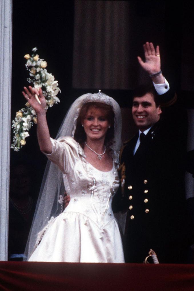 Ini adalah penampilan dari Duke of York dengan Sarah Ferguson saat momen pernikahannya 1986 lalu.