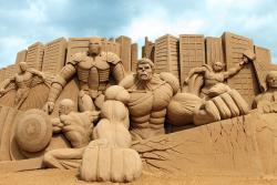 7 Patung dari Pasir yang Bikin Kamu Takjub Melihatnya