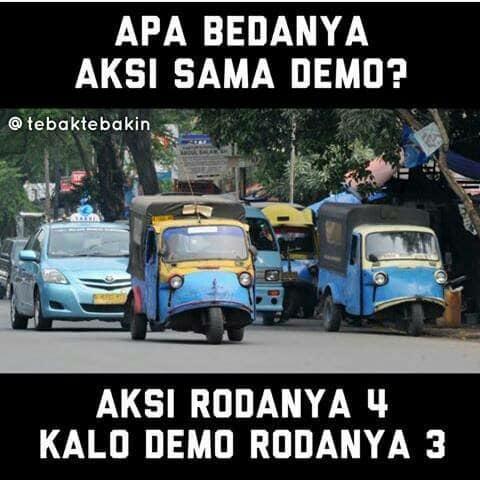 Itu mah taxi sama demo kellesss.