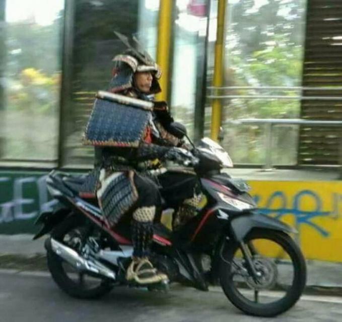 Shogun keliling kota
