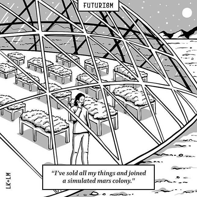 Manusia akan memilih tinggal di planet Mars ketimbang di bumi.