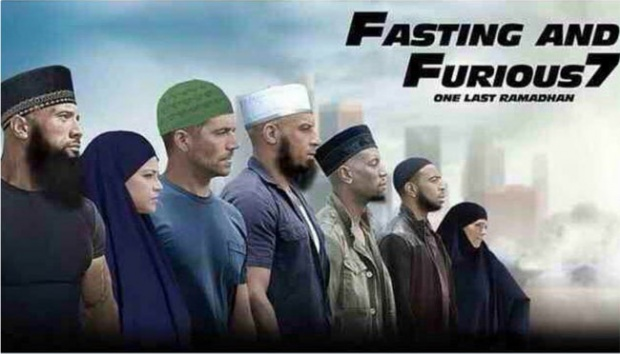 Balapannya ditunda dulu ya, bulan puasa mending balapan banyakin ibadah di masjid biar dapat banyak pahala.