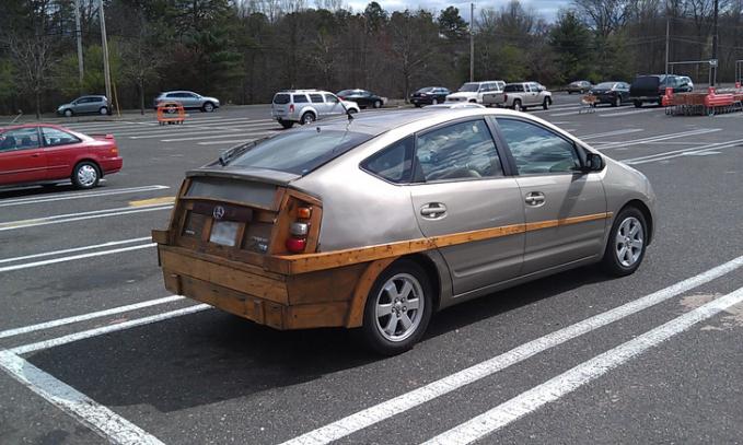 Kalau pakai kayu begini dijamin bakalan kut dan anti penyok.
