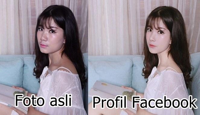Atau sering kan kalian menemukan fakta bahwa foto di Facebook kadang berbanding terbalik dengan aslinya?