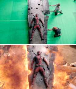 Ternayata Seperti Ini Nih Dibalik Layar Adegan Keren Film Hollywood